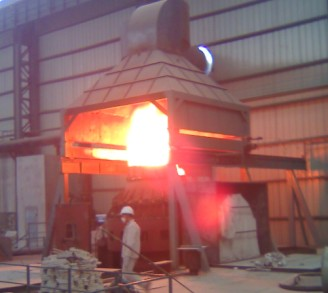 生产中AOD炉